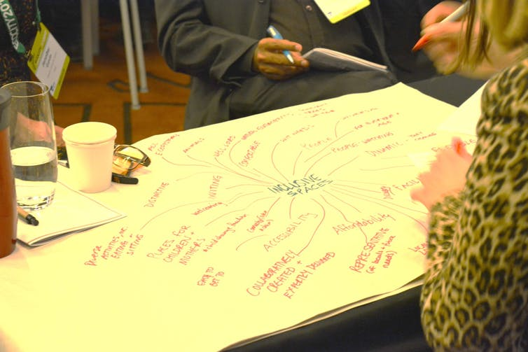 Putting the pieces together to create safe public spaces for all