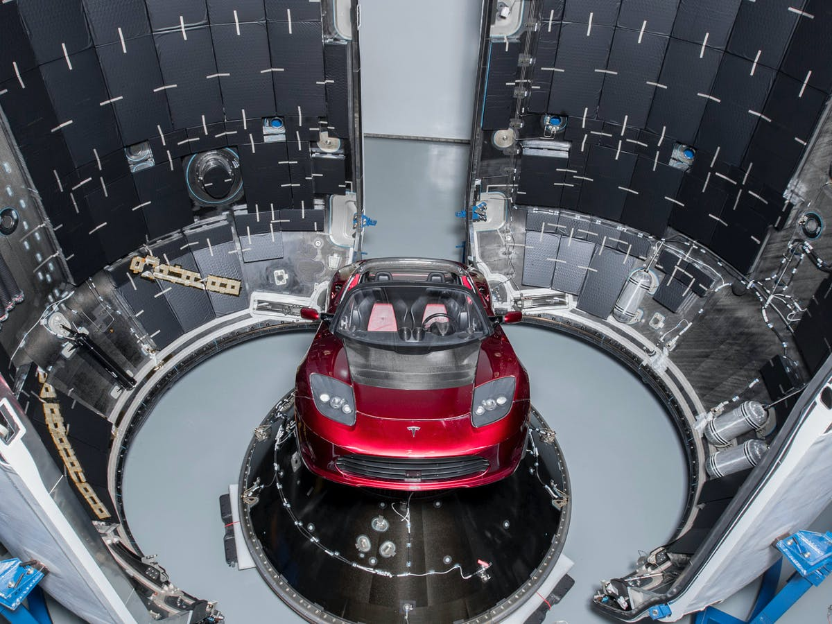Elon Musk Is Launching A Tesla Into Space Here S How Spacex Will Do It