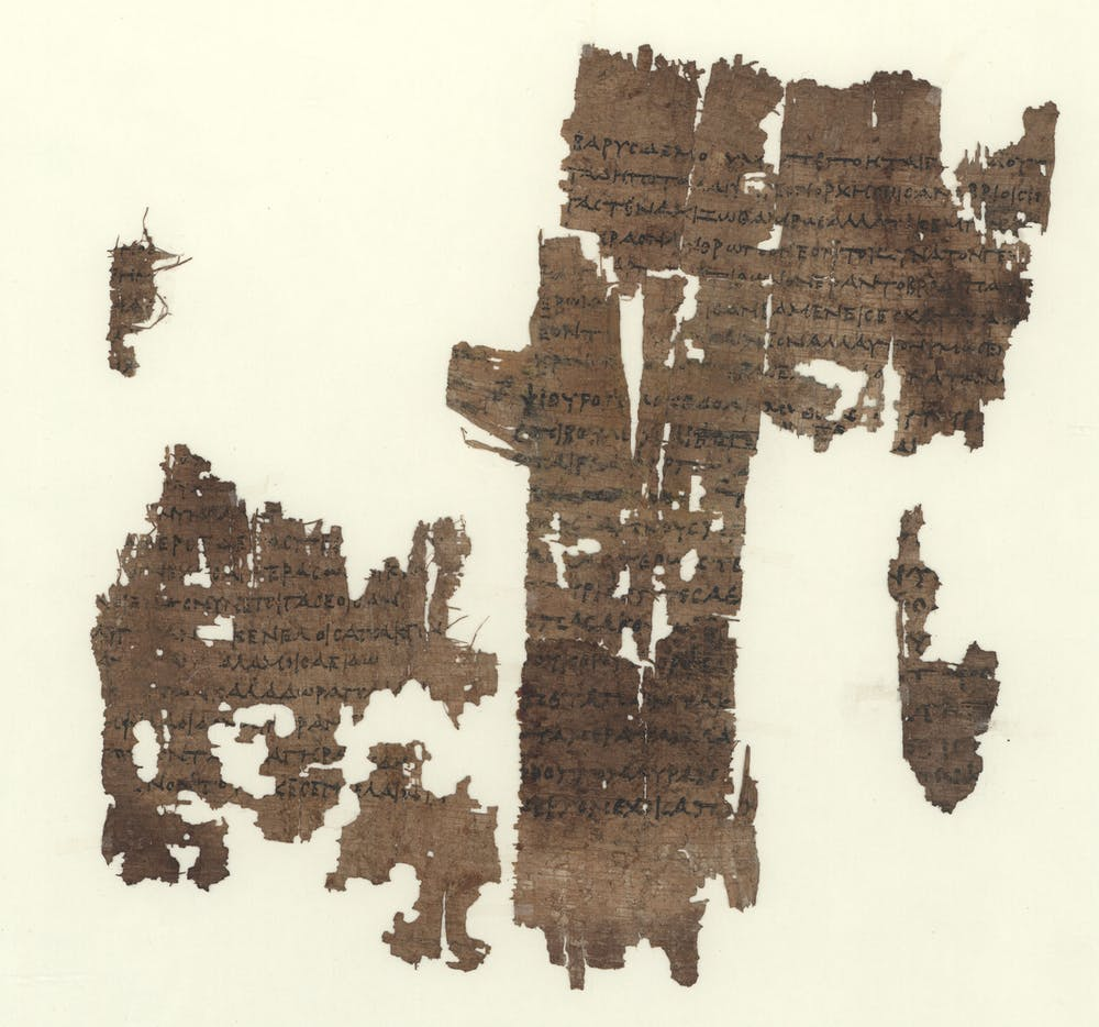 Classic at the bookshelf sapphos poem an old age lines 9 20 lb 58 papyrus from third century bc wikimedia commons fandeluxe Gallery