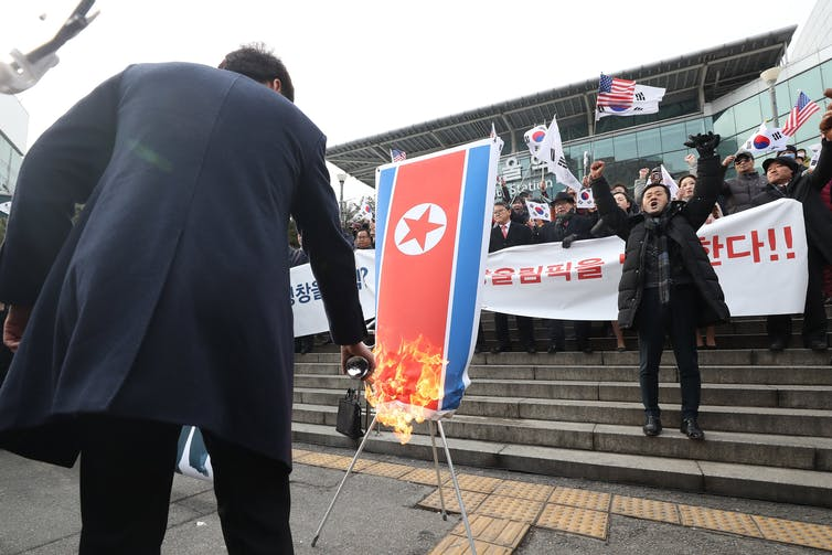 Two Koreas working together on Winter Olympics is a small but important step toward peace