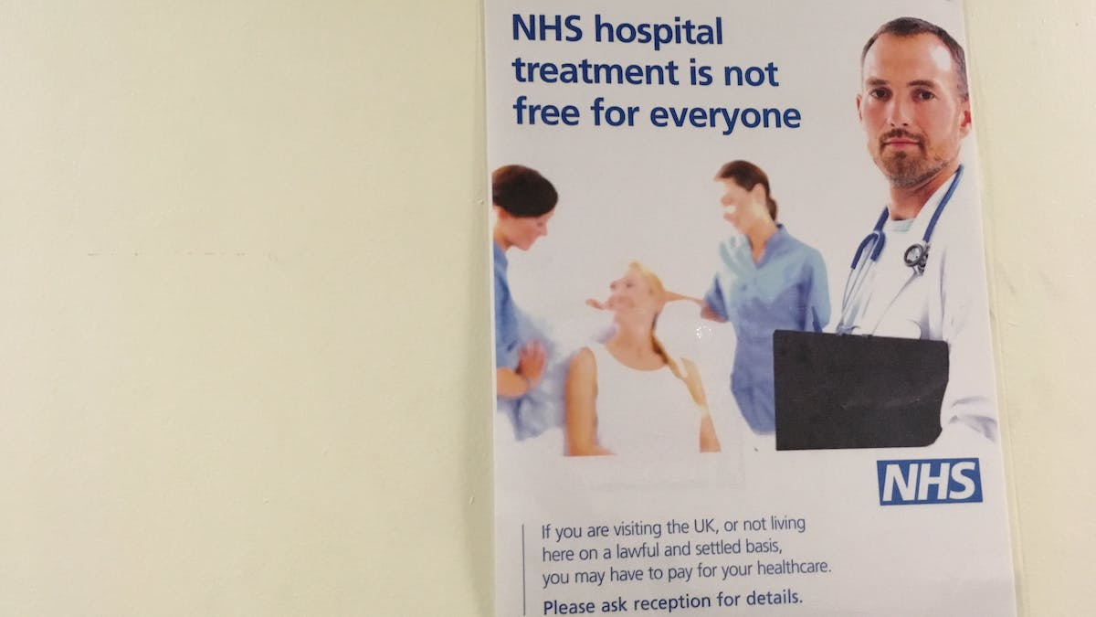 who is eligible for free nhs treatment