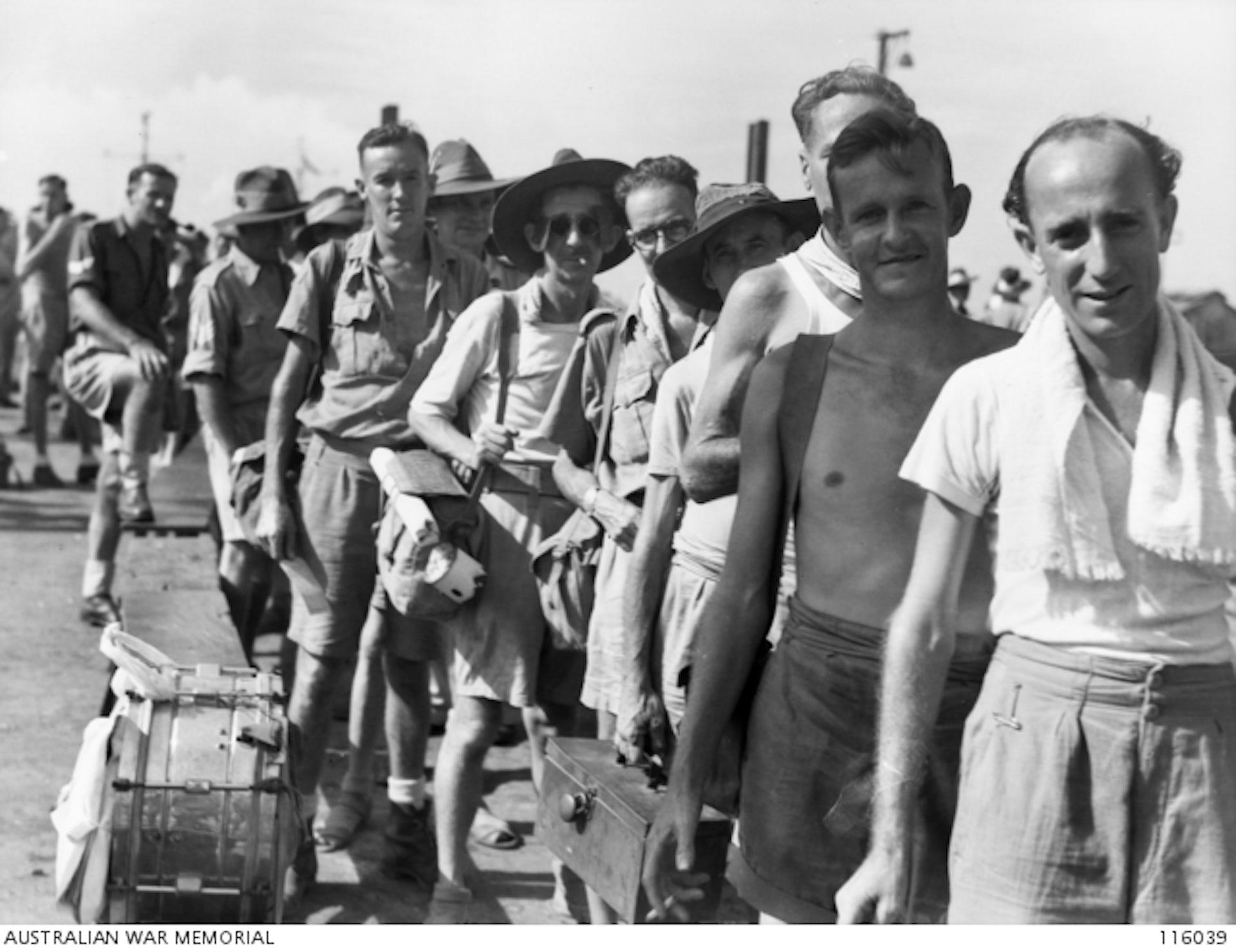 australian prisoners of war ww2