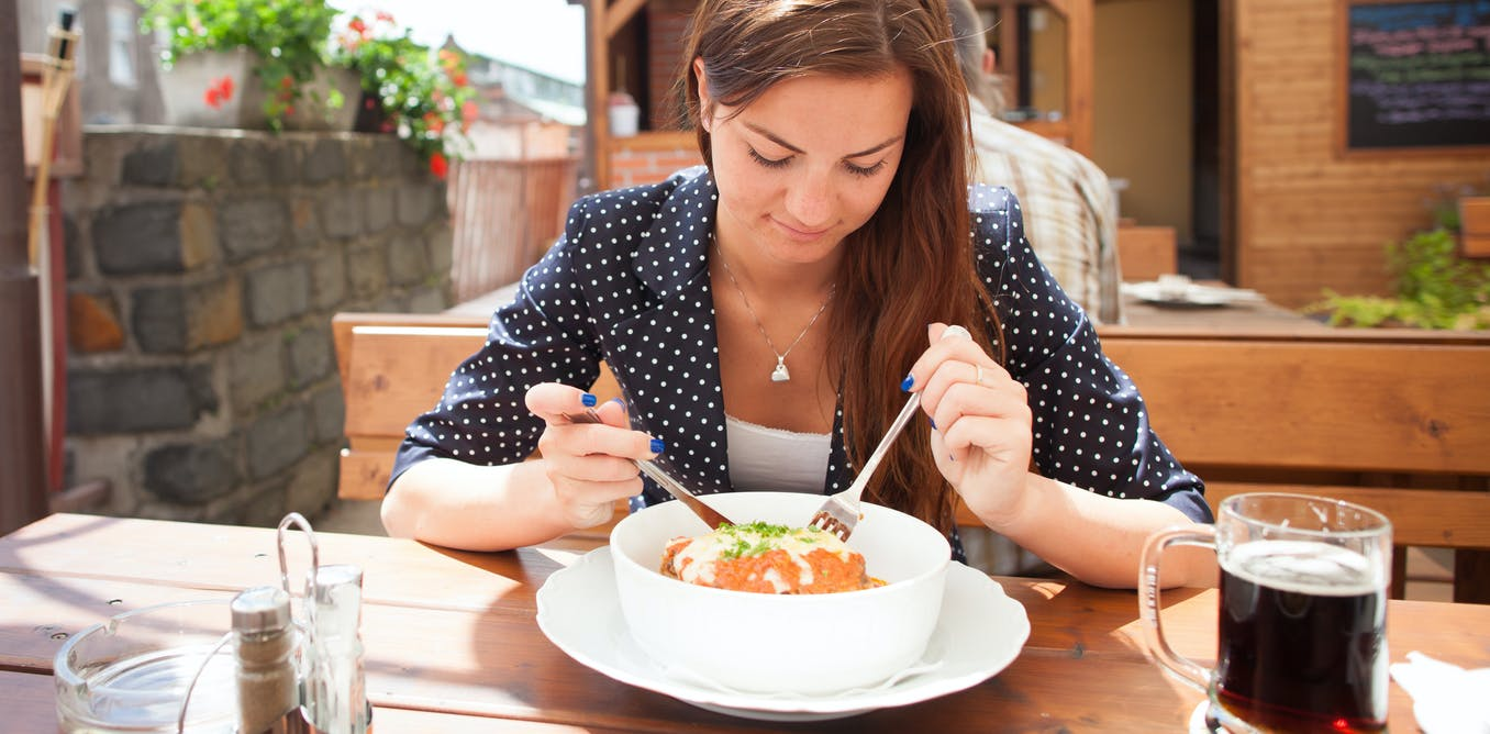 thin white female how people document eating disorder recovery on