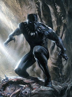 T'Challa is the Black Panther – a righteous king, noble Avenger, and fearsome warrior