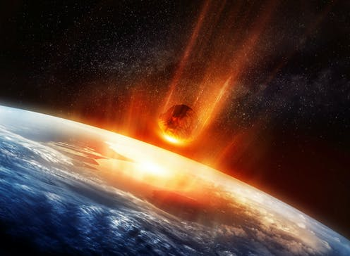 Image result for meteor impact