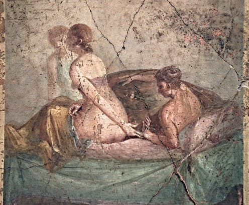 Ancient Sex Drawings - Friday essay: the erotic art of Ancient Greece and Rome