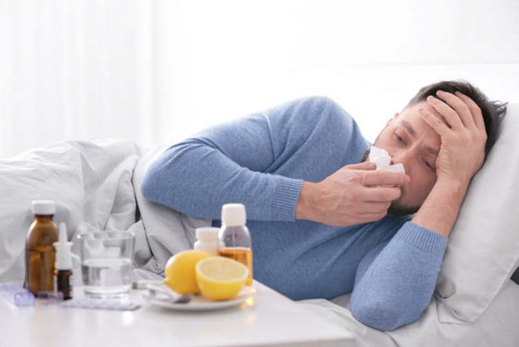 what cause influenza virus