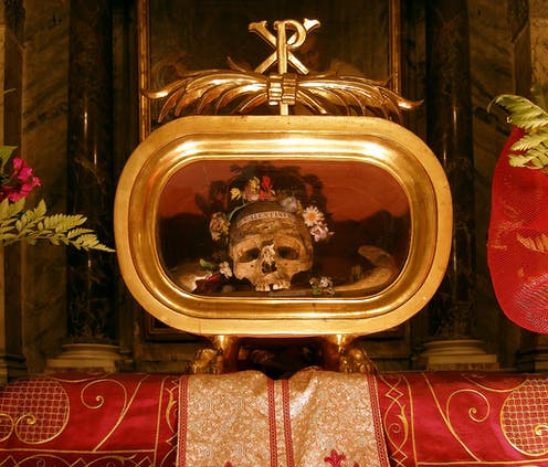 The 'real' St  Valentine was no patron of love