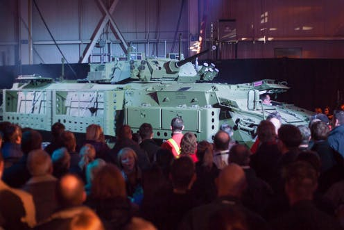 Image result for the conversation: Canada's checkered history of arms sales to human rights violators