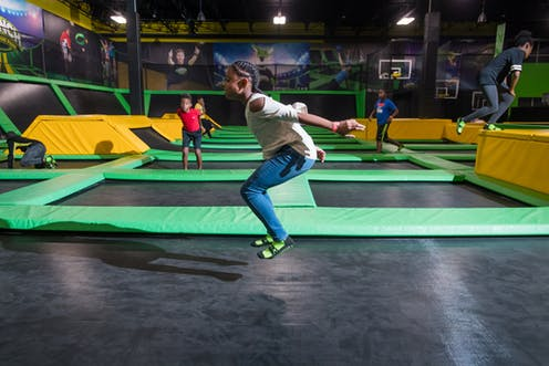 Without Mandatory Safety Standards Indoor Trampoline