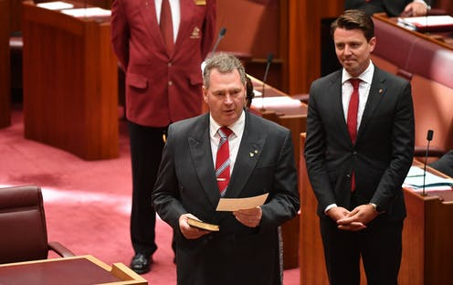 Liberals gain a Tasmanian long Senate term due to citizenship saga, while polling on Adani is mixed