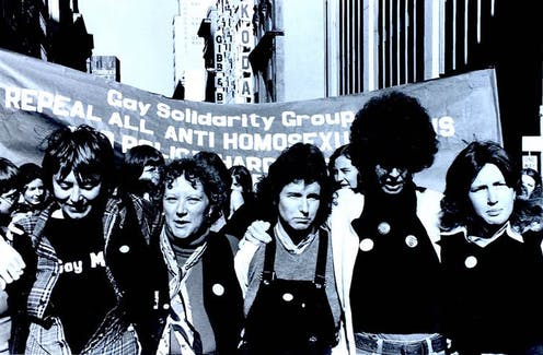 Essays On Air: On the Sydney Mardi Gras march of 1978