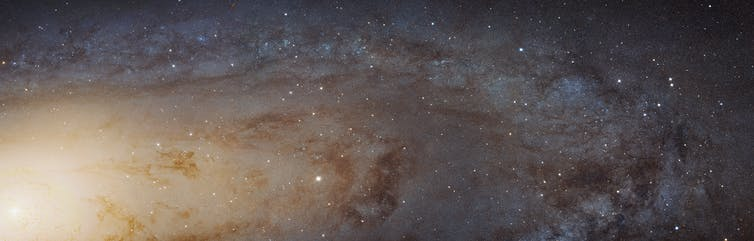 When galaxies collide, size matters if you want to know the fate of our Milky Way
