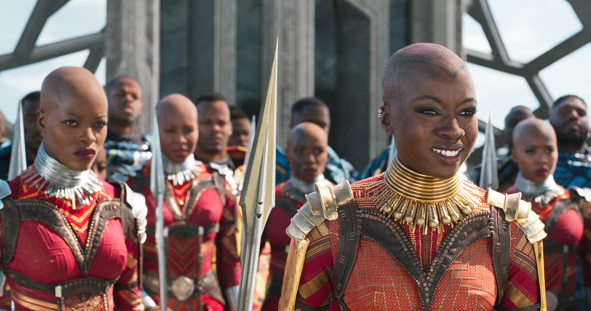 Role models: the women of Wakanda. Marvel Studios' BLACK PANTHER