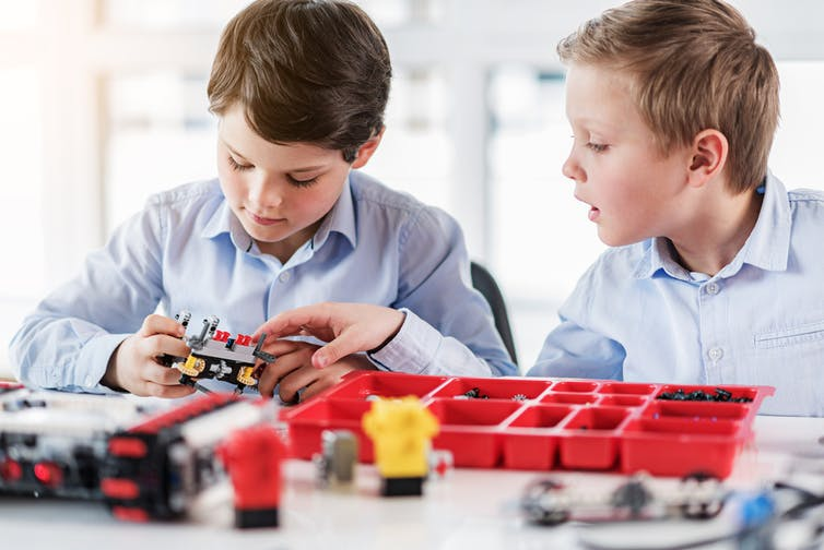Play-based learning can set your child up for success at school and beyond