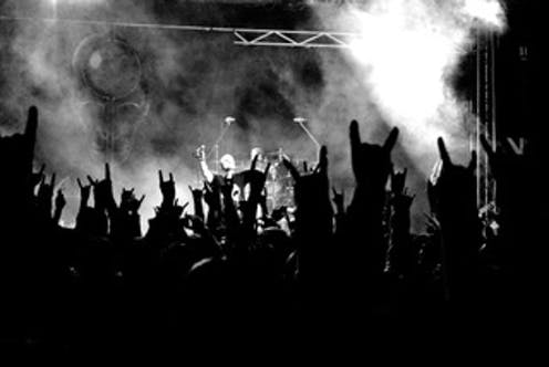 Death metal is often violent and misogynist yet it brings joy and empowerment to fans
