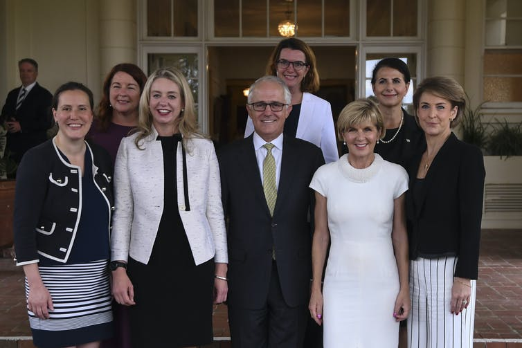 Turnbull's 'sex ban' speech reveals that politics is still not an equal place for women – but it is changing