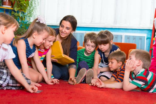 Low-paid 'women's work': why early childhood educators are
