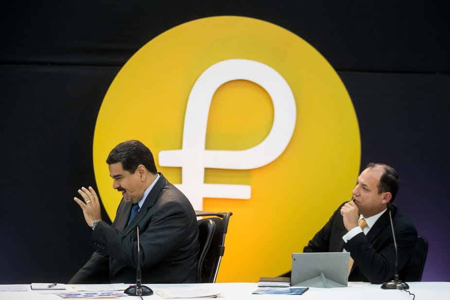 venezuela cryptocurrency price