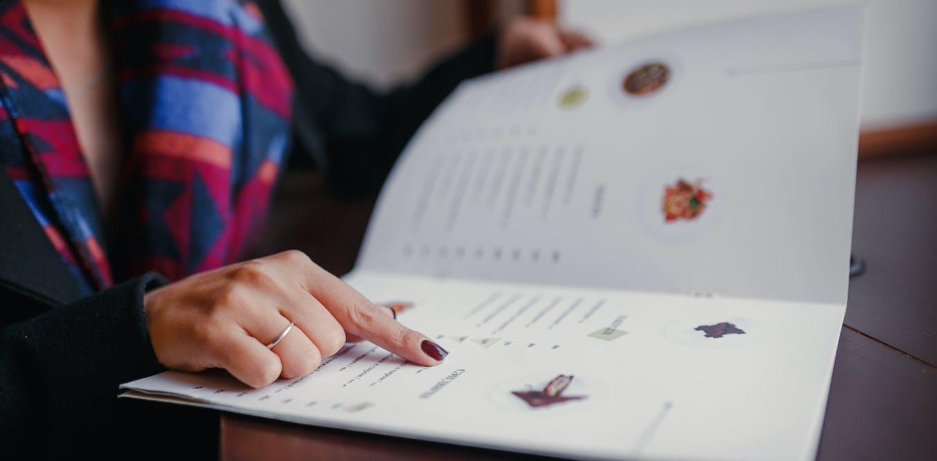 Nutritional labelling on menus helps cut the calories we buy