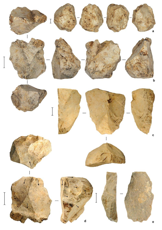 Stone artifact dating