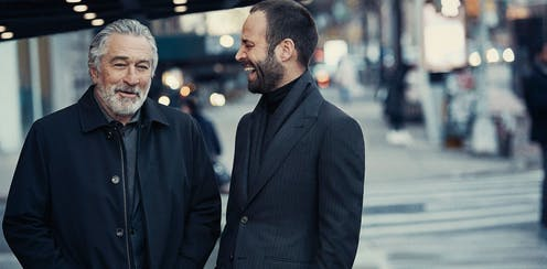 Actor Robert De Niro and dancer Benjamin Millepied in Ermenegildo Zegna's Fall 2017 campaign