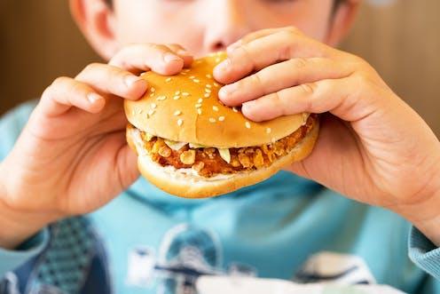 small speech on junk food