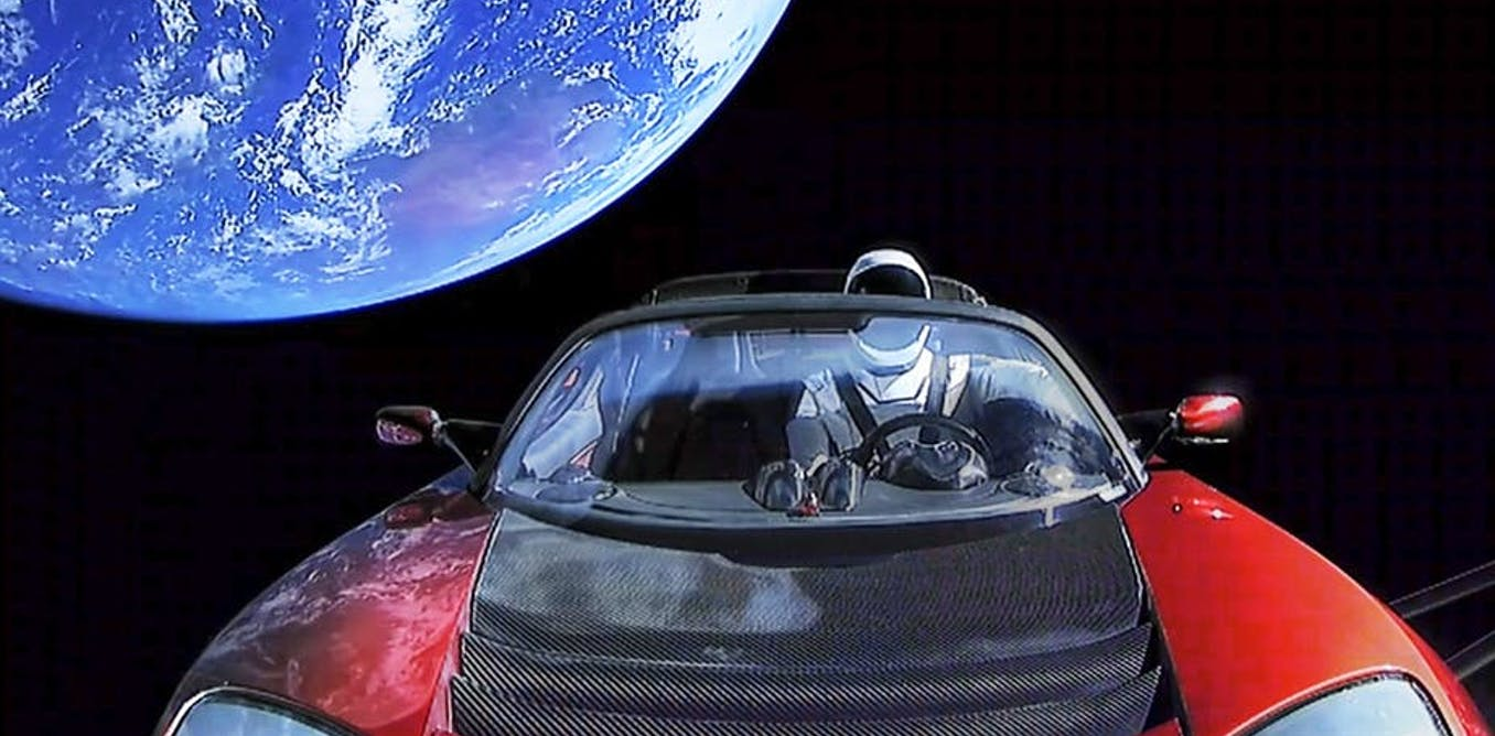 Elon Musk And Tesla A Magician In Space
