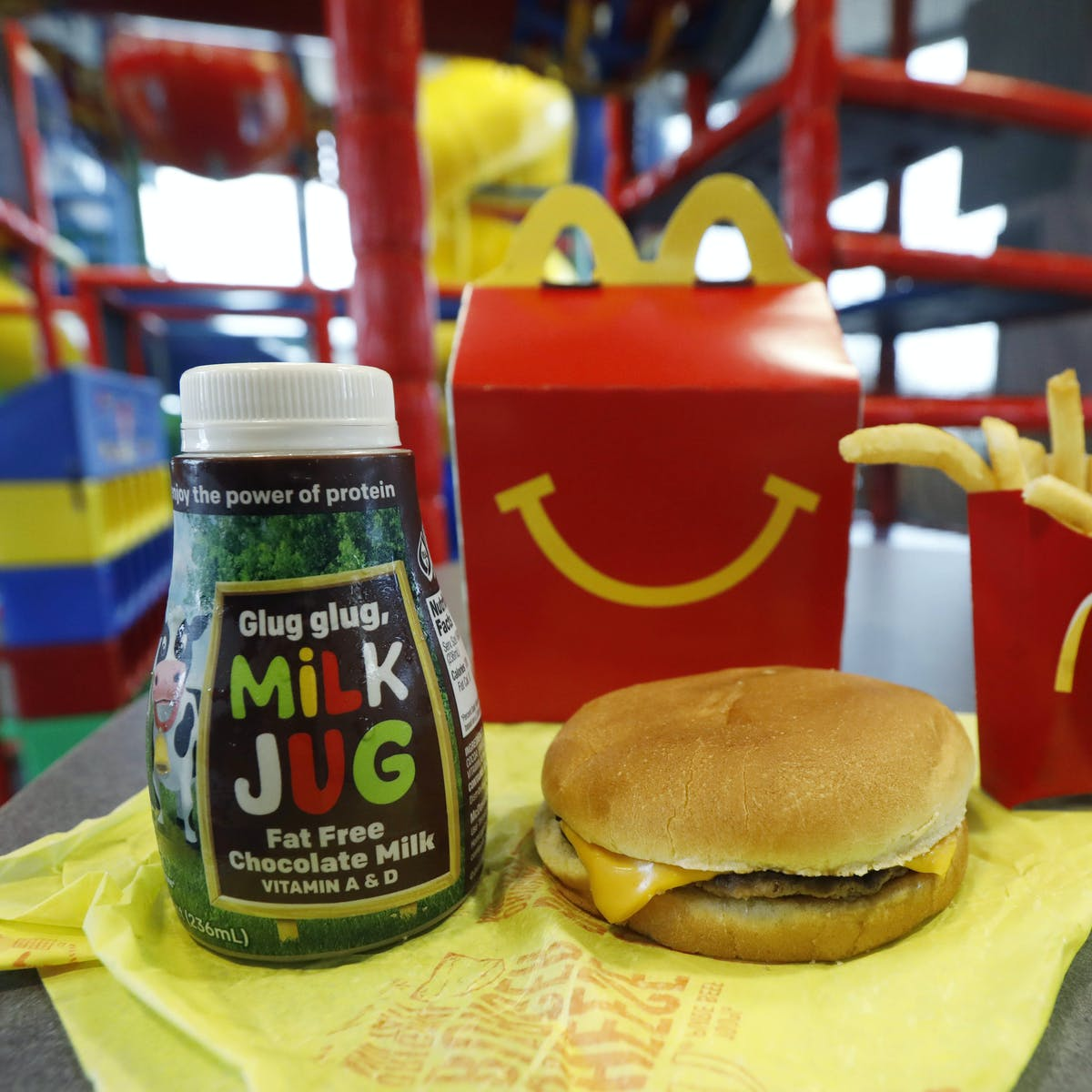 Will holding the cheese and chocolate milk on Happy Meals make a ...