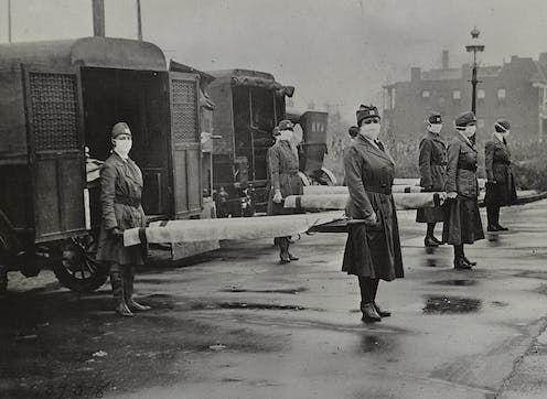 How the devastating 1918 flu pandemic helped advance US women's rights