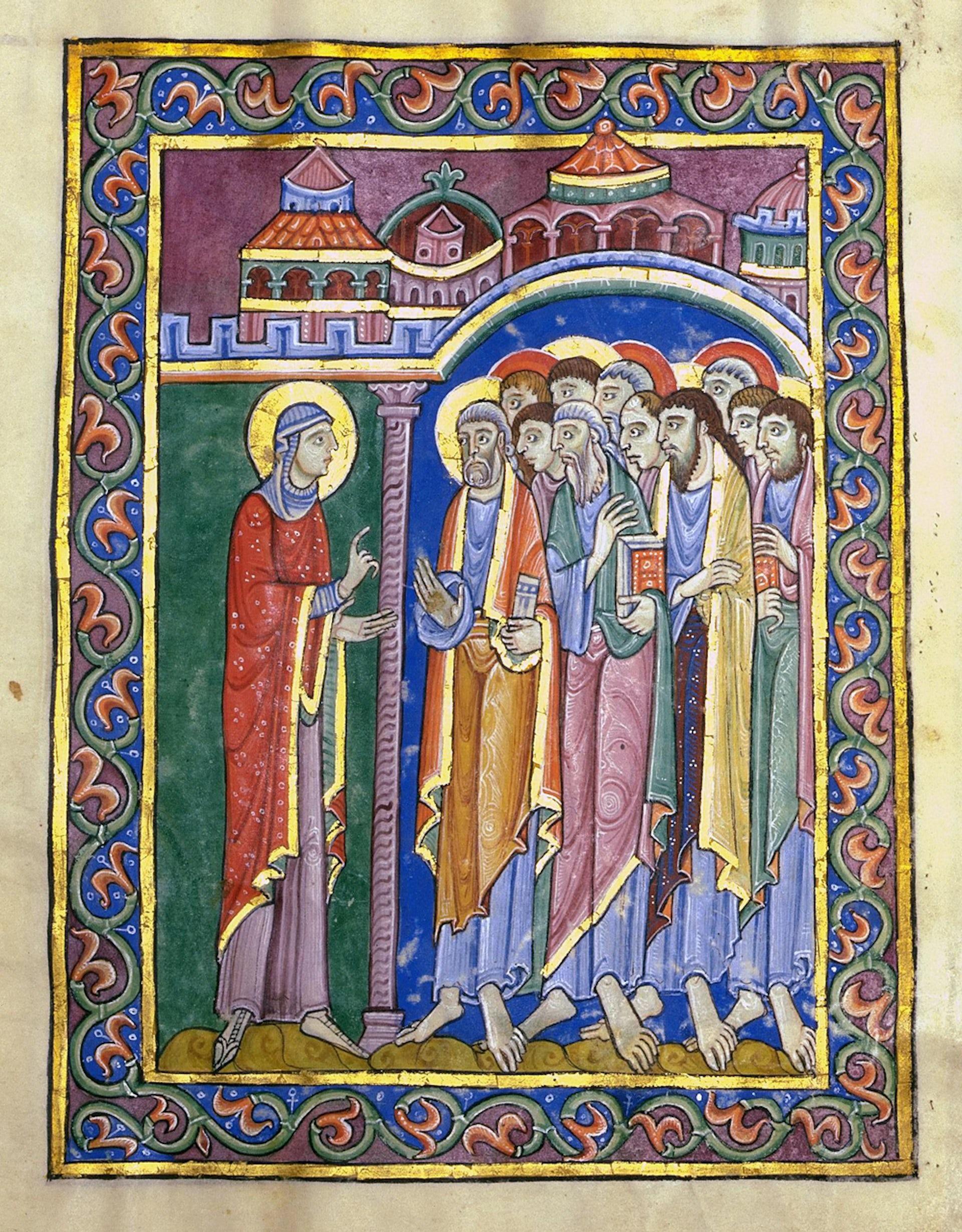 Mary Magdalene St Albans Psalter