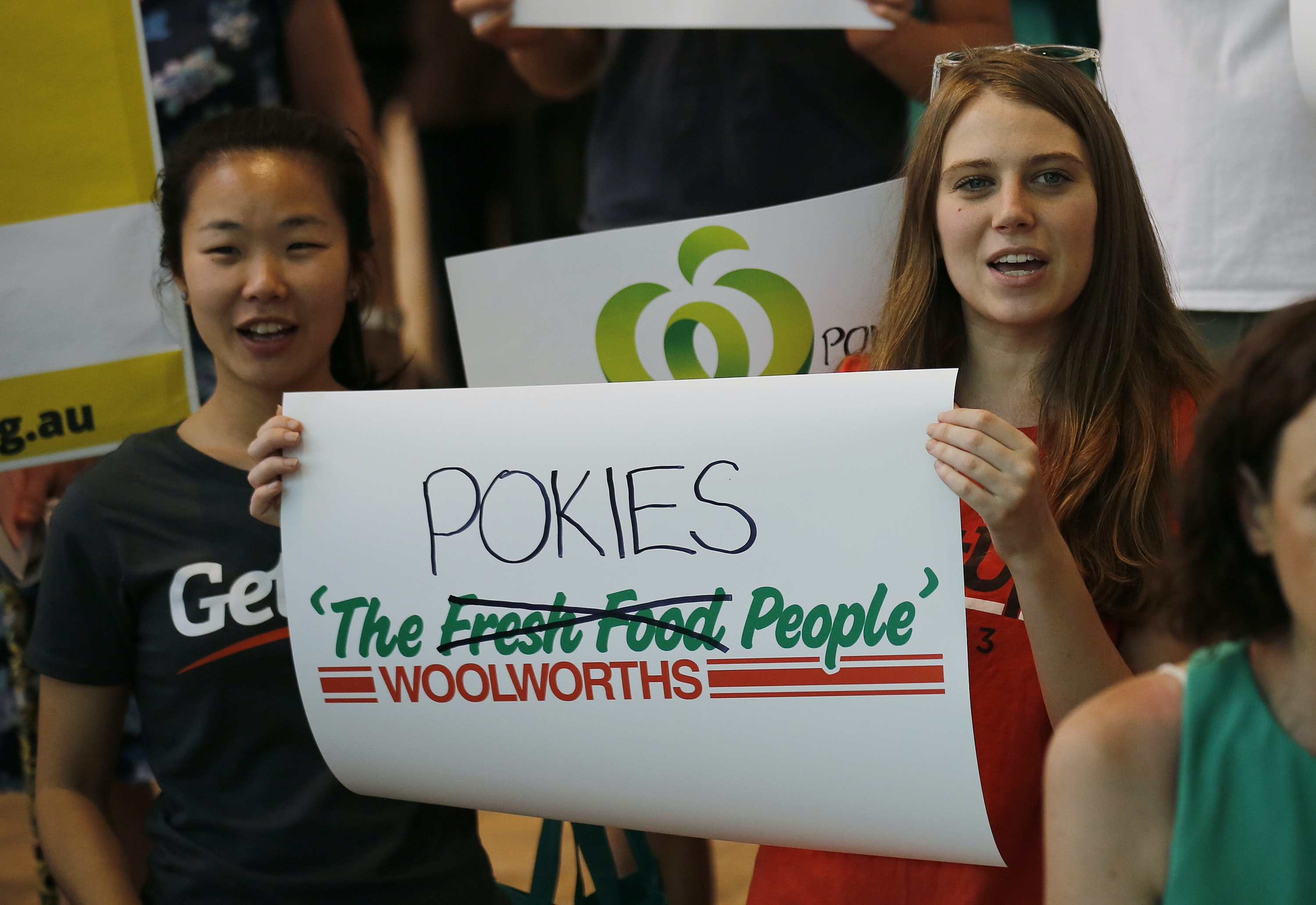 'Do whatever you have to': Woolworths staff rewarded for spying on pokie players