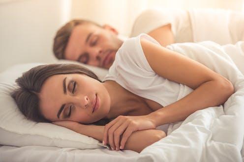 Beauties sleep sex girl photo