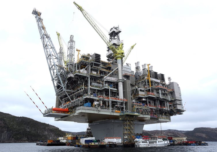 New Hebron offshore oil platform a Canadian engineering marvel