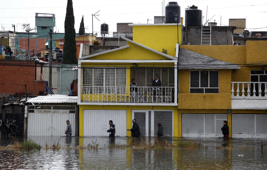 While Mexico plays politics with its water, some cities flood and