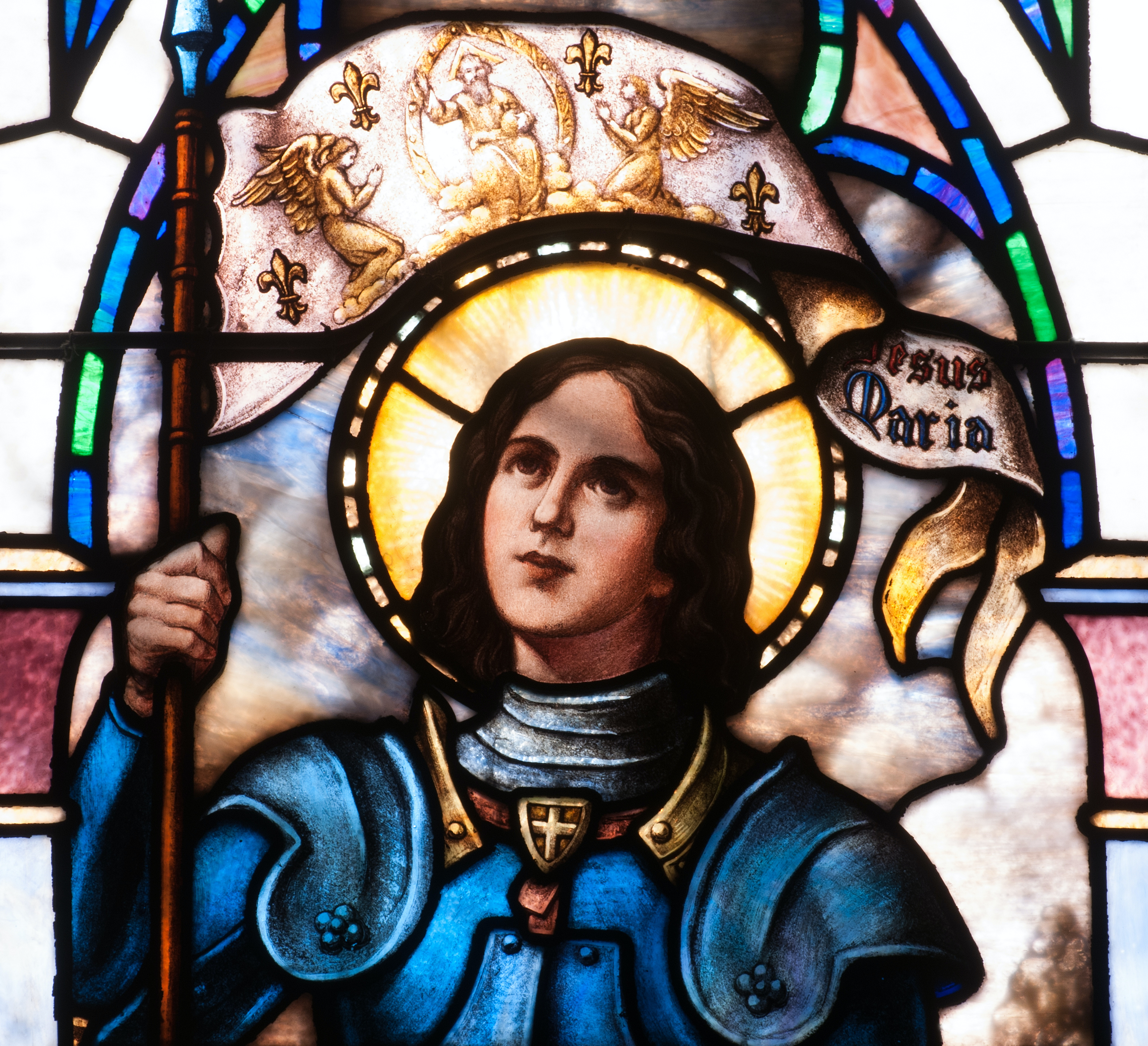 essay on st. joan of arc Joan of arc: god's messenger as to whether victory was my banners or mine, it was all our lord's, joan of arc, 1431 joan of arc , also known as the maid of orleans, was a ferocious figure in history.