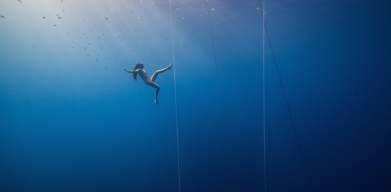 Free divers have long defied science – and we still don't really understand how they go so deep