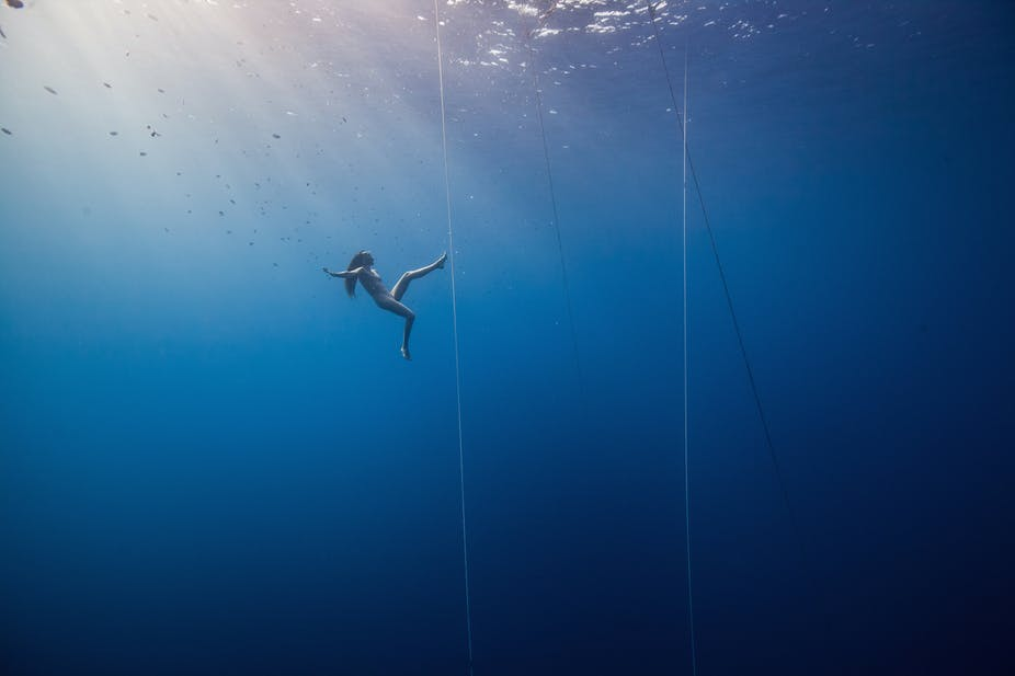 free divers have long defied science and we still don t really