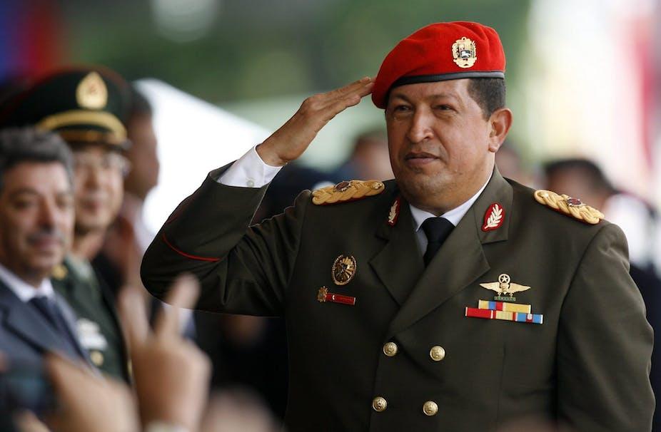 Wenezuela. Hugo Chavez