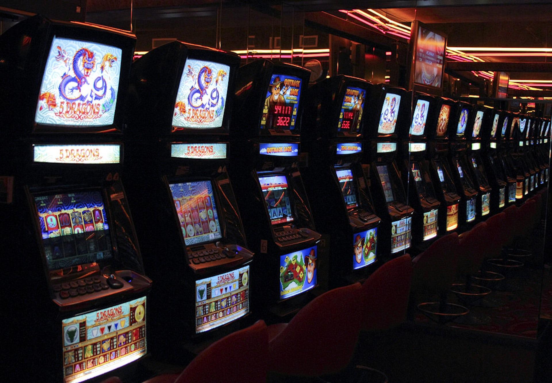 casino rigged slot machine