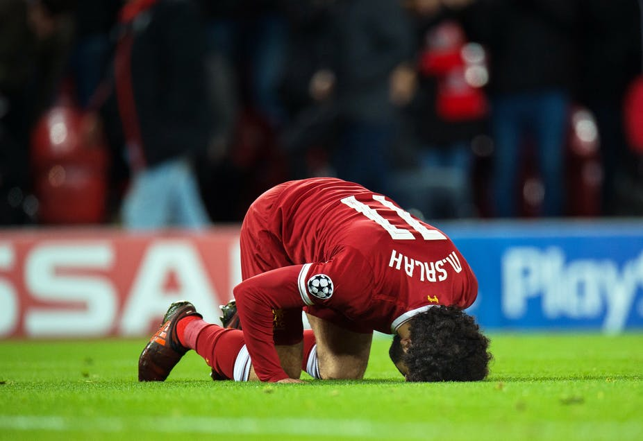 eb9d20efd Liverpool FC s Mohamed Salah s goal celebrations  a guide to British  Muslimness