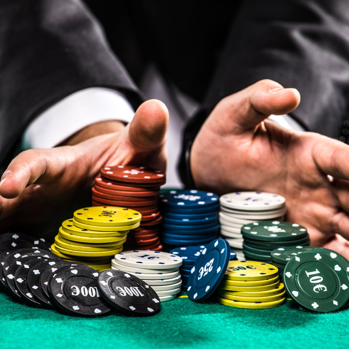 The financial sector is professional gambling in action