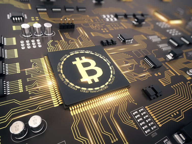 Sinking energy into digital currency. from www.shutterstock.com