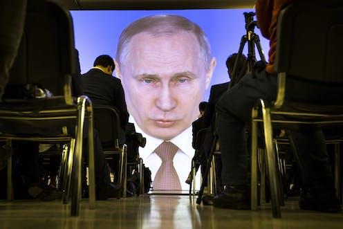 The Byzantine history of Putin's Russian empire