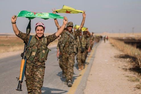 Image result for kurdish troops