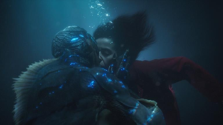 The Shape of Water is an unconventional love story between a mute woman and a sea creature