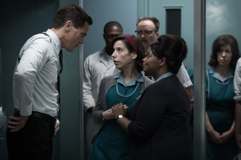 The Shape of Water offers a clever allegory to Donald's Trump's presidency, with Michael Shannon's character (on the left) representing some of the president's worst qualities
