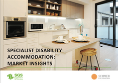 NDIS needs the market to help make up at least 60% shortfall in specialist disability housing