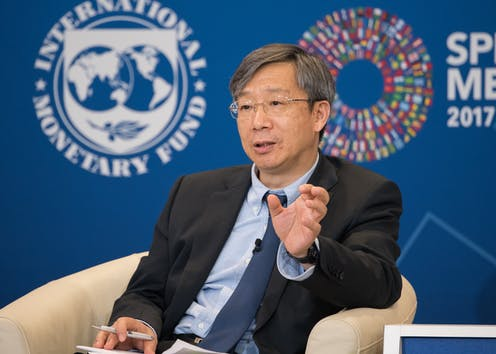 China's new central bank governor will have to deal with massive debt and an ambitious economic agenda