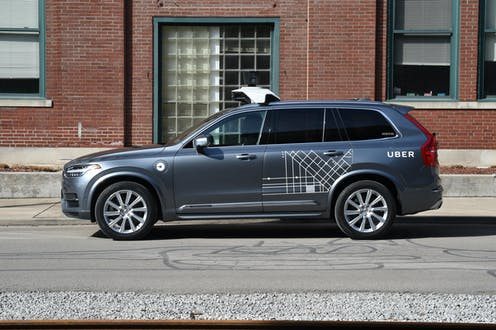 Legal lessons for Australia from Uber's self-driving car fatality